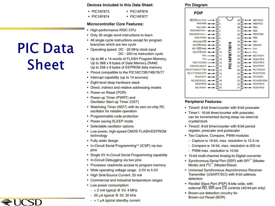 PIC Data Sheet
