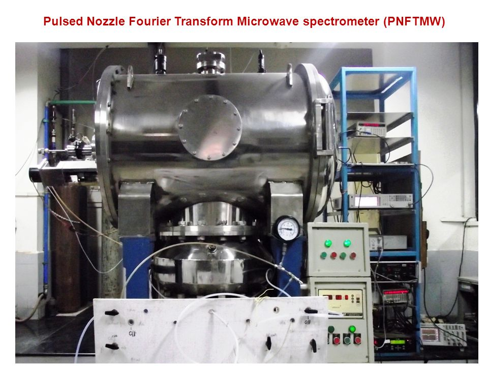 Pulsed Nozzle Fourier Transform Microwave spectrometer (PNFTMW)