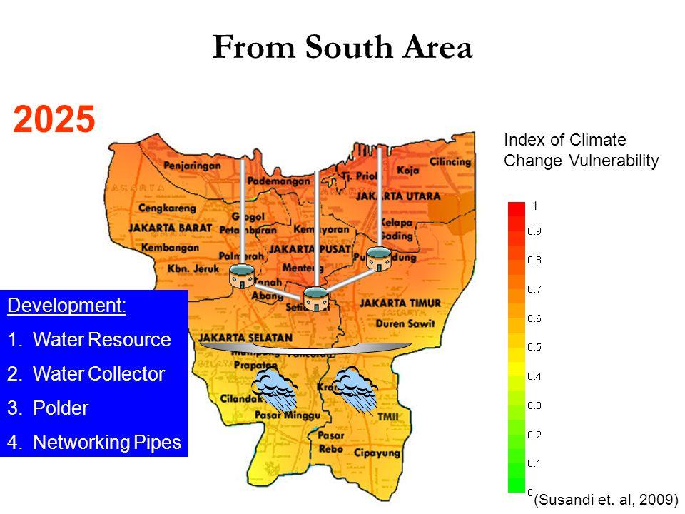Index of Climate Change Vulnerability 1 (Susandi et.