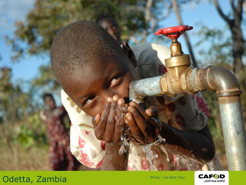 Odetta, Zambia Photo: Caroline Irby