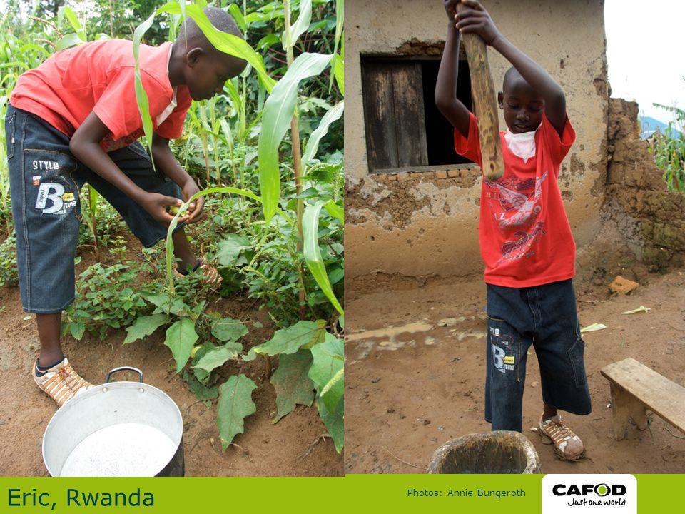 Eric, Rwanda Photos: Annie Bungeroth