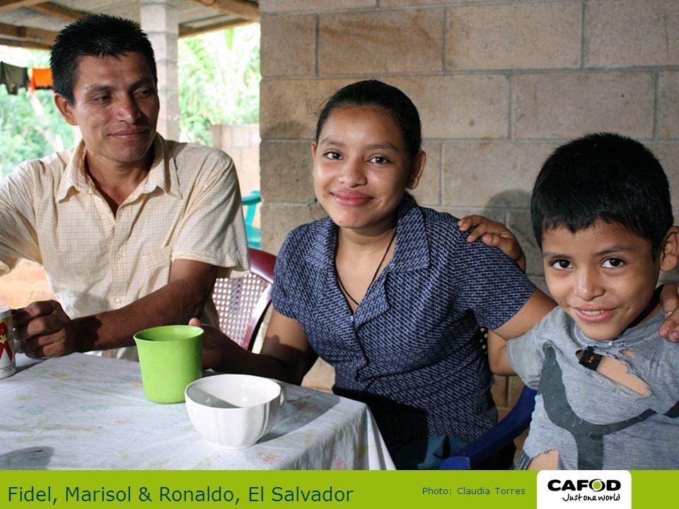 Fidel, Marisol & Ronaldo, El Salvador Photo: Claudia Torres