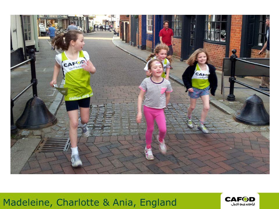 Madeleine, Charlotte & Ania, England