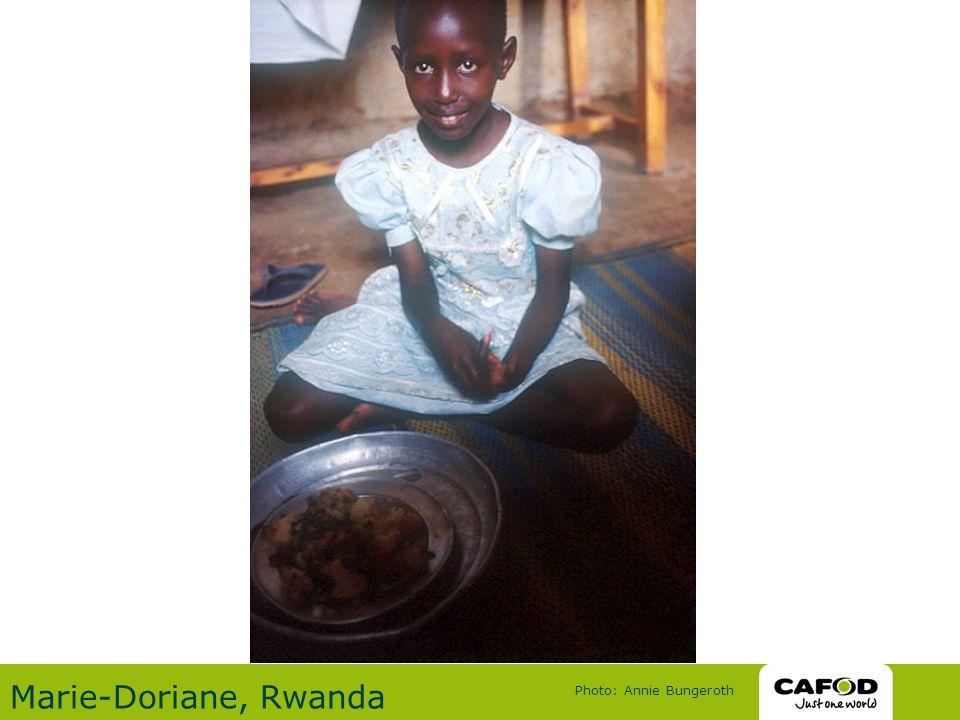 Marie-Doriane, Rwanda Photo: Annie Bungeroth
