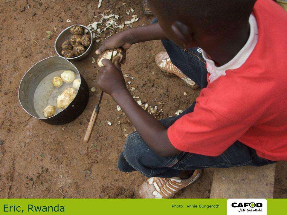 Eric, Rwanda Photo: Annie Bungeroth