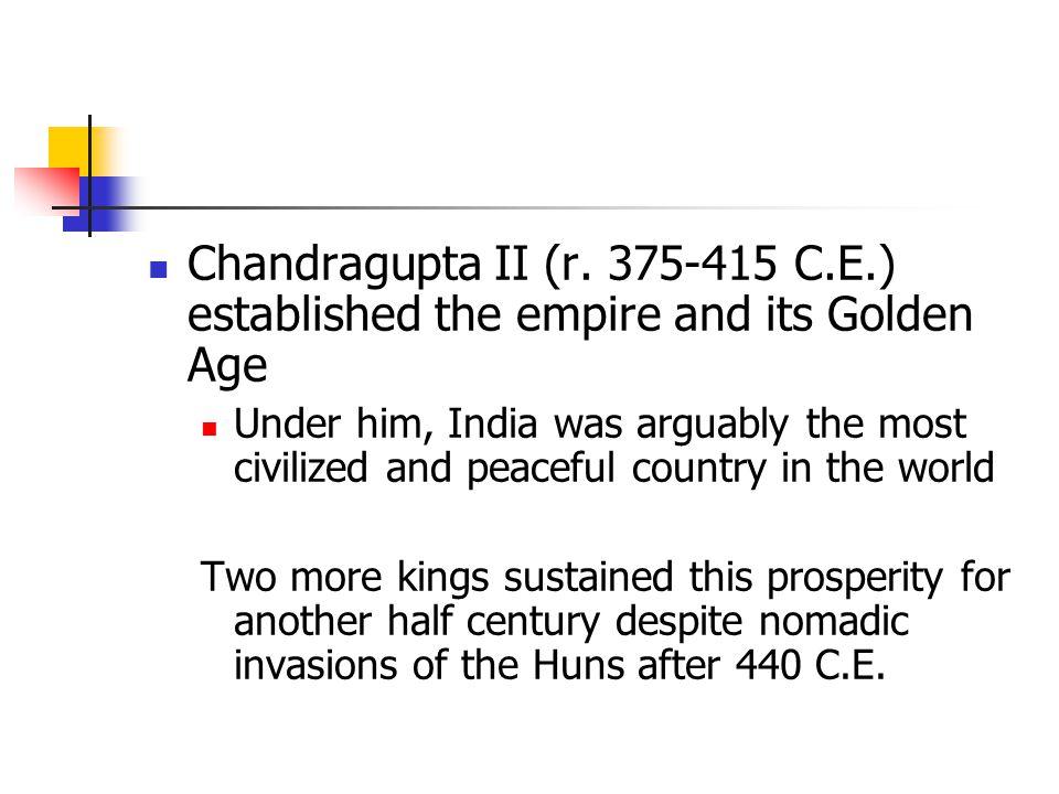 Chandragupta II (r.
