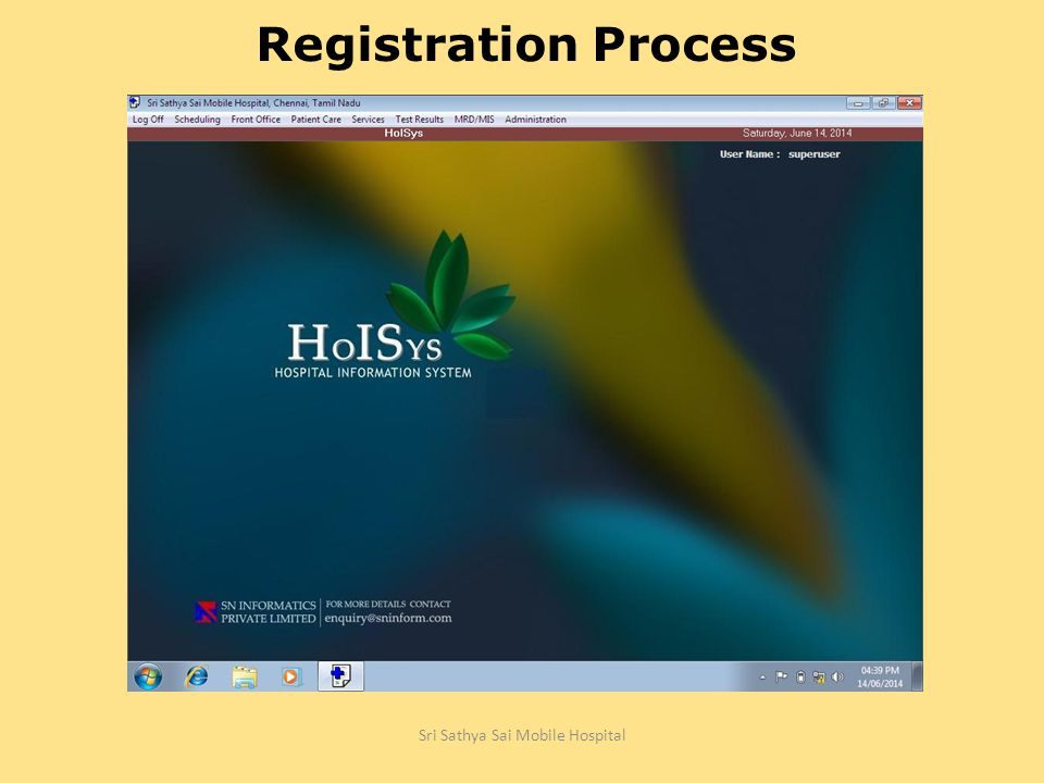 Lesson 1 Registration Process