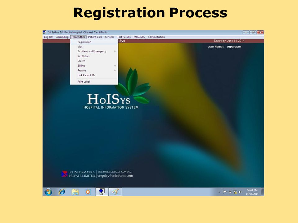 Sri Sathya Sai Mobile Hospital Registration Process