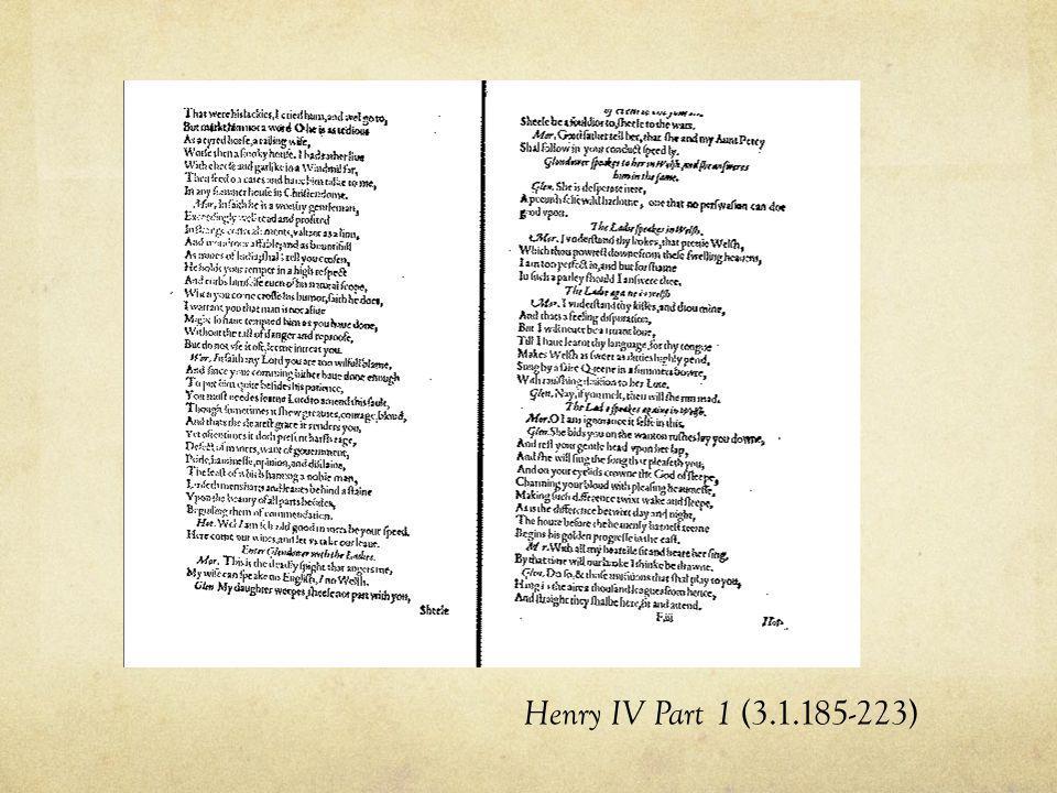 Henry IV Part 1 (3.1.185-223)
