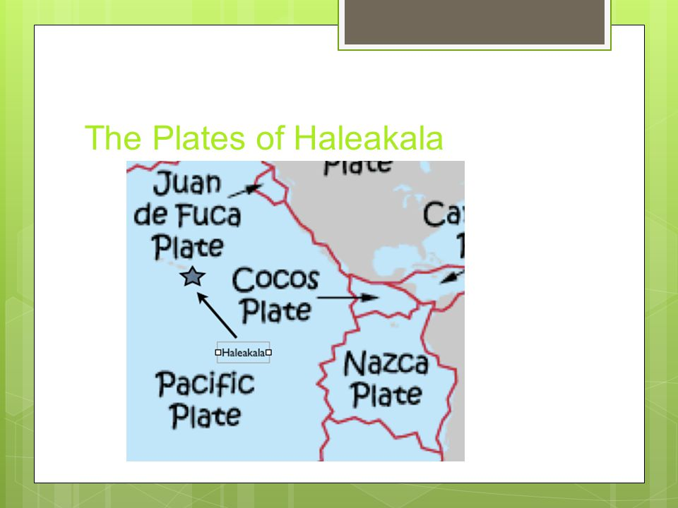 The Plates of Haleakala