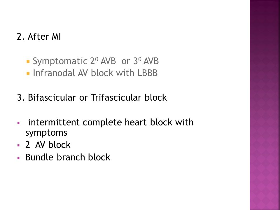 47 MAC To provide comfort To control dysrhythmias To check for proper function/capture Have external pacer & Atropine ready Continuous ECG and peripheral pulse monitoring