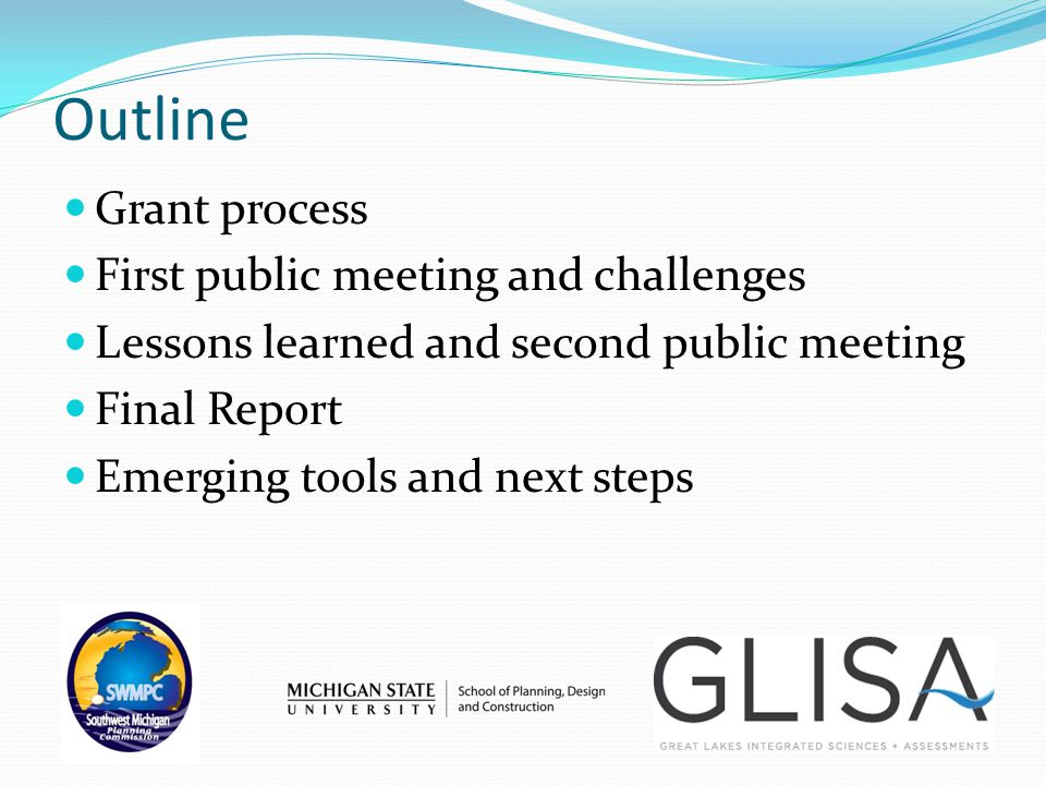 Community Selection & Contact Meeting Community Conversations 1 & 2 Stakeholder Interviews Audit Tool Completion Final Meeting Process Sept.