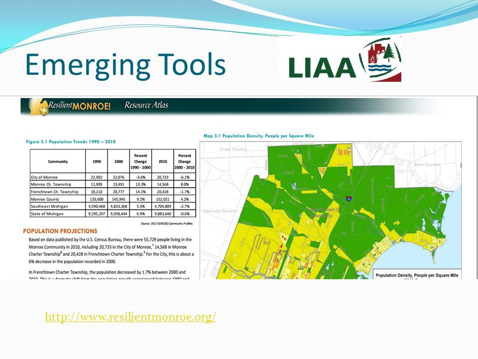 Emerging Tools http://www.resilientmonroe.org/