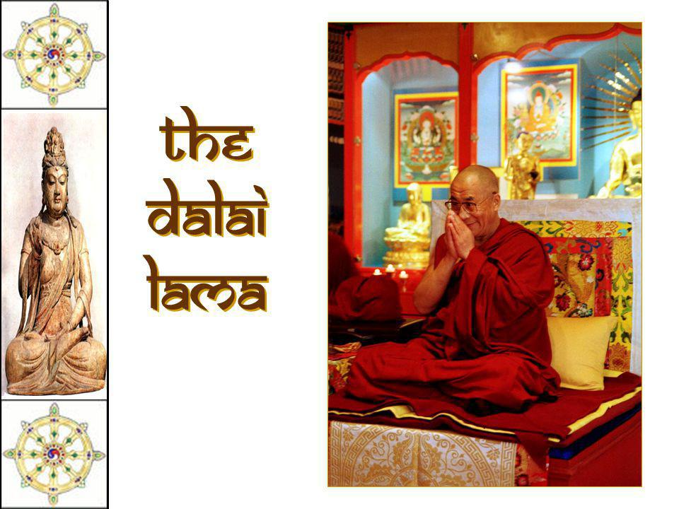 "Tibetan Buddhism  The ""Diamond Vehicle."" [Vajrayana]  Developed in Tibet in the 7c CE.  A mix of Theravada and Mahayana.  Boddhisatvas include Lam"