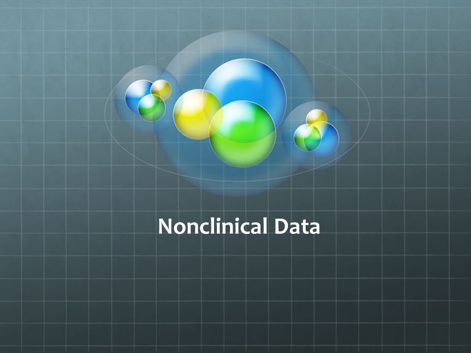 Nonclinical Data