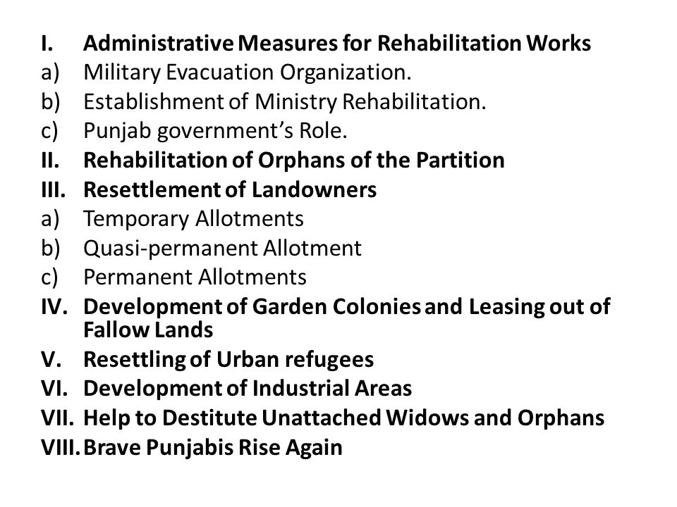 9. Main Stages in the movement for Punjabi Speaking State