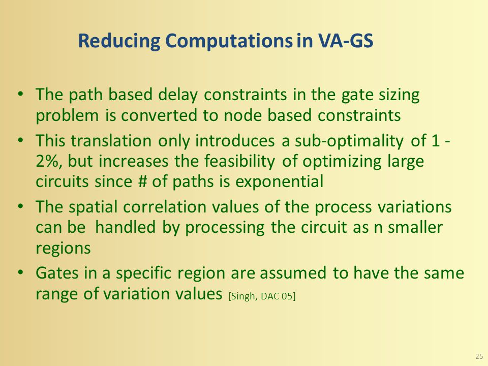 Step 4: Crisp Nonlinear VA-GS Problem The crisp problem for VA-GS is given by, Where  is the variation parameter, nc sizing and wc sizing represent t