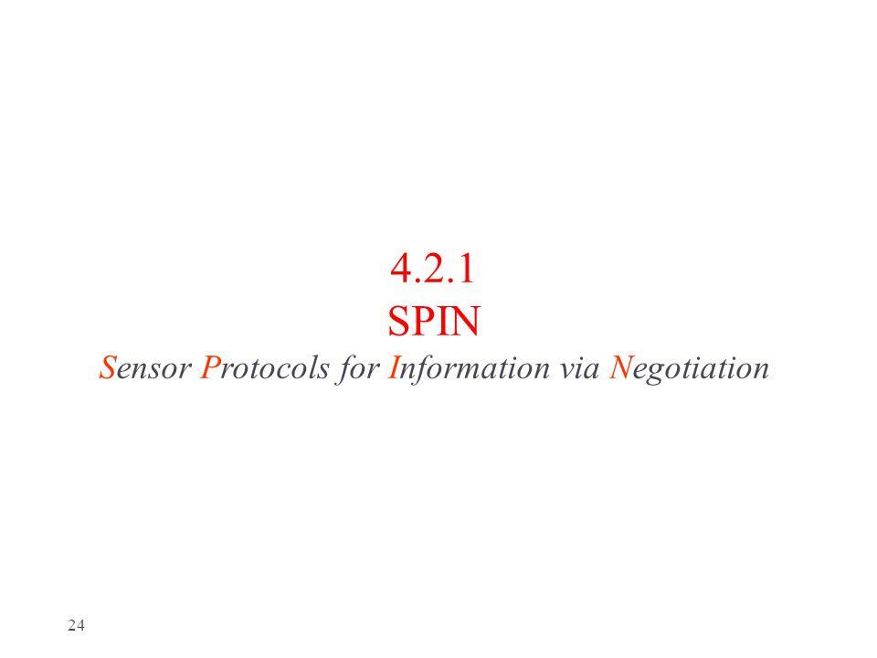 4.2.1 SPIN Sensor Protocols for Information via Negotiation 24