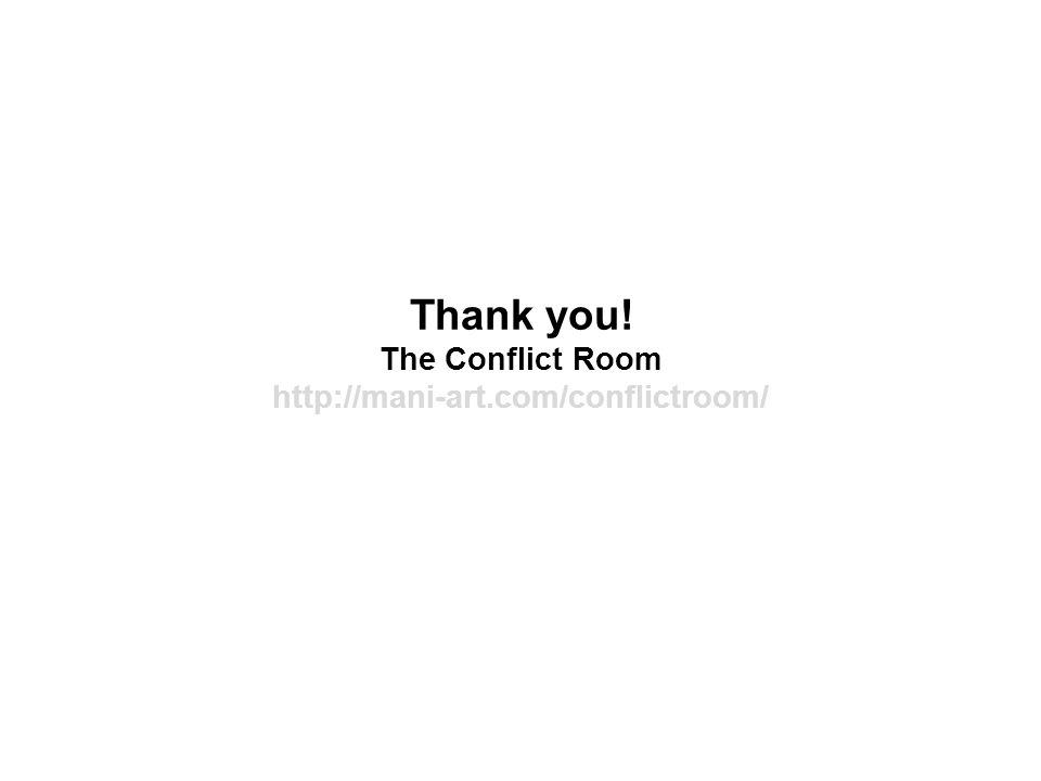 Thank you! The Conflict Room http://mani-art.com/conflictroom/