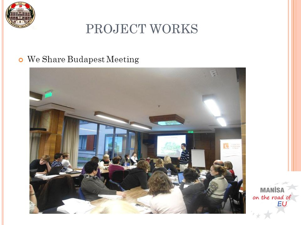 We Share Budapest Meeting PROJECT WORKS