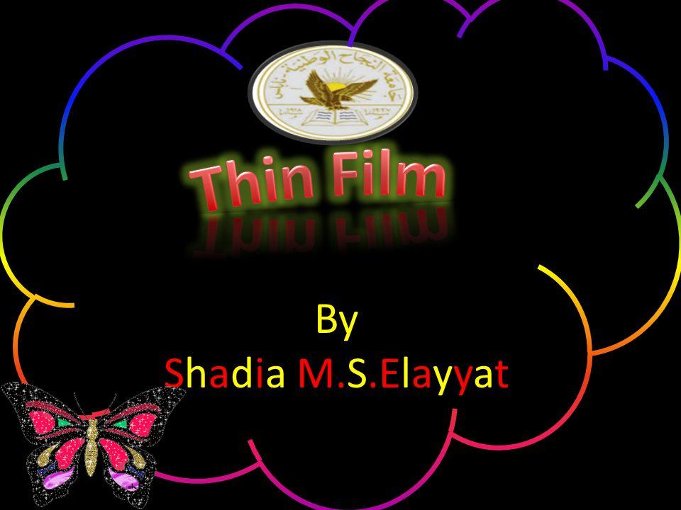 By Shadia M.S.Elayyat