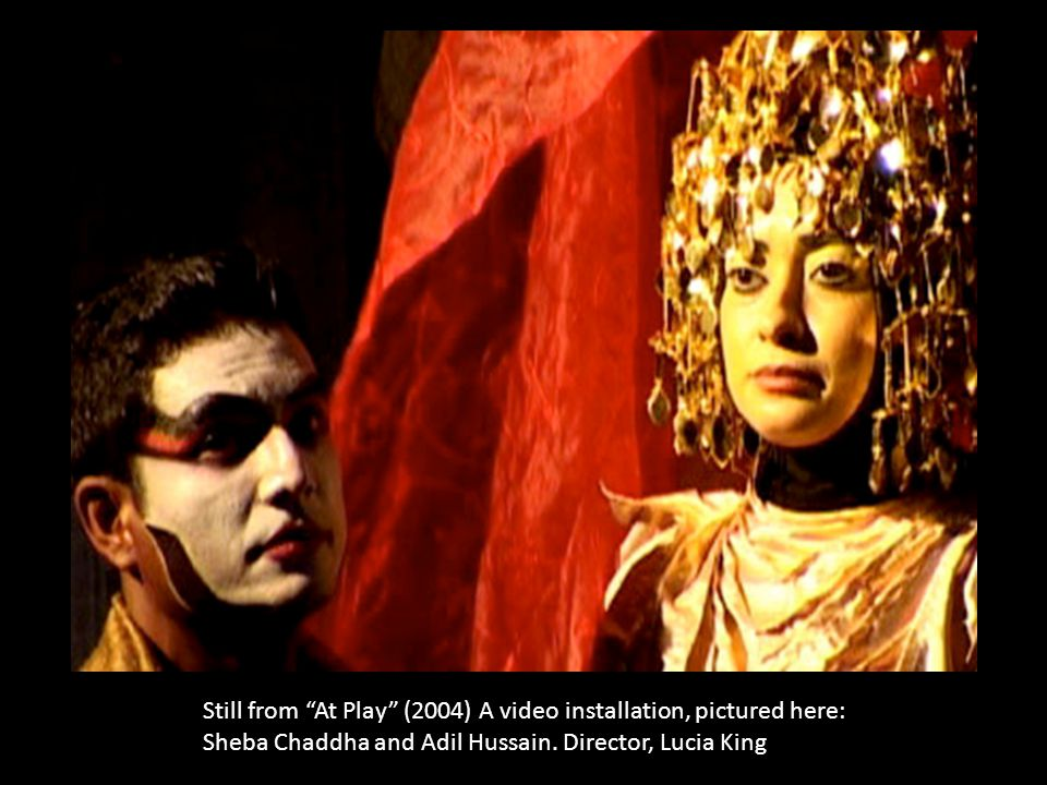 Still from the film, To Part and Return (2009) Director Lucia King, featuring artist/performer/dancer, Vinay Kumar