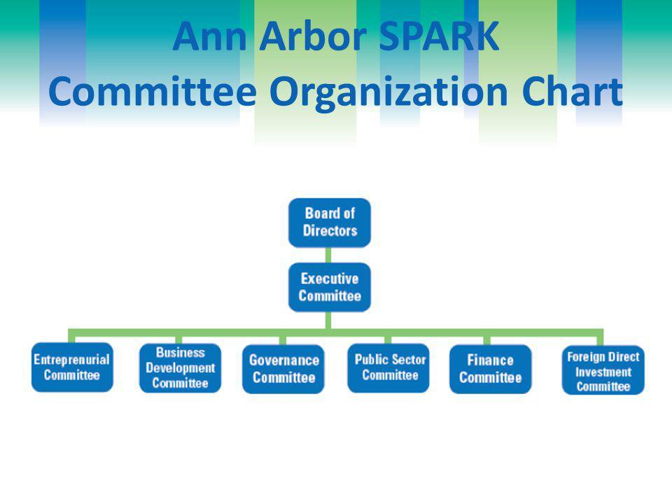 Ann Arbor SPARK Committee Organization Chart