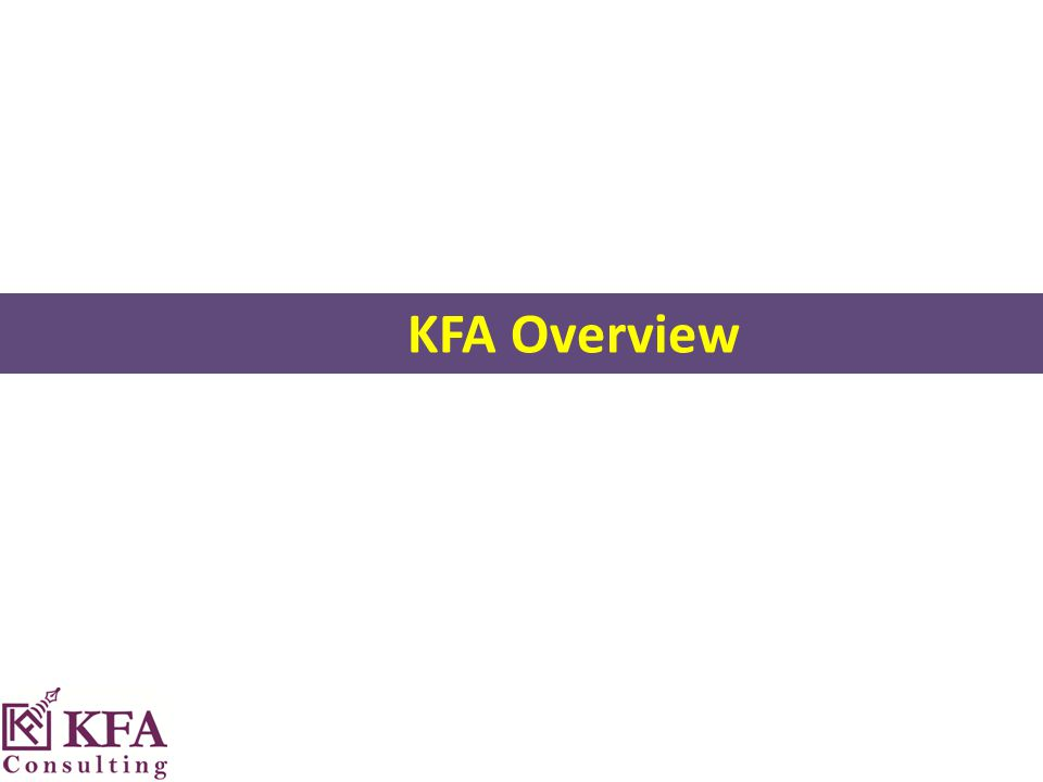 KFA Overview