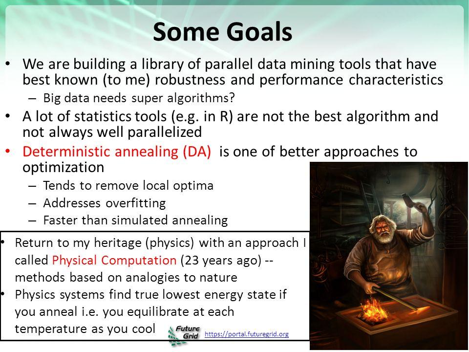https://portal.futuregrid.org 25 OctTree for 100K sample of Fungi We use OctTree for logarithmic interpolation