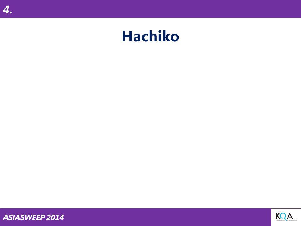 ASIASWEEP 2014 Hachiko 4.