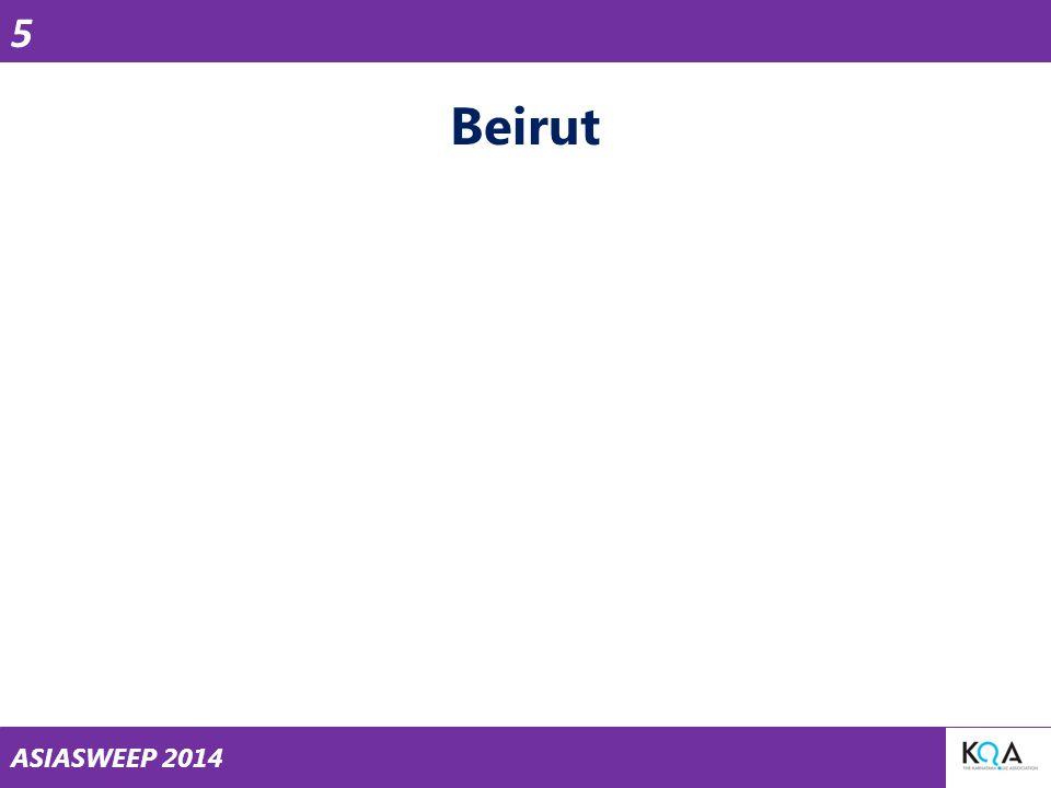 ASIASWEEP 2014 Beirut 5