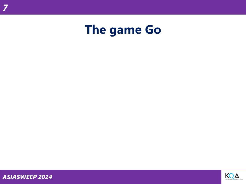 ASIASWEEP 2014 The game Go 7