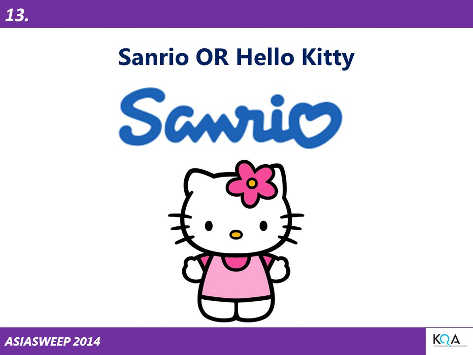 ASIASWEEP 2014 Sanrio OR Hello Kitty 13.