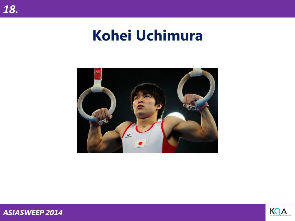 ASIASWEEP 2014 18. Kohei Uchimura