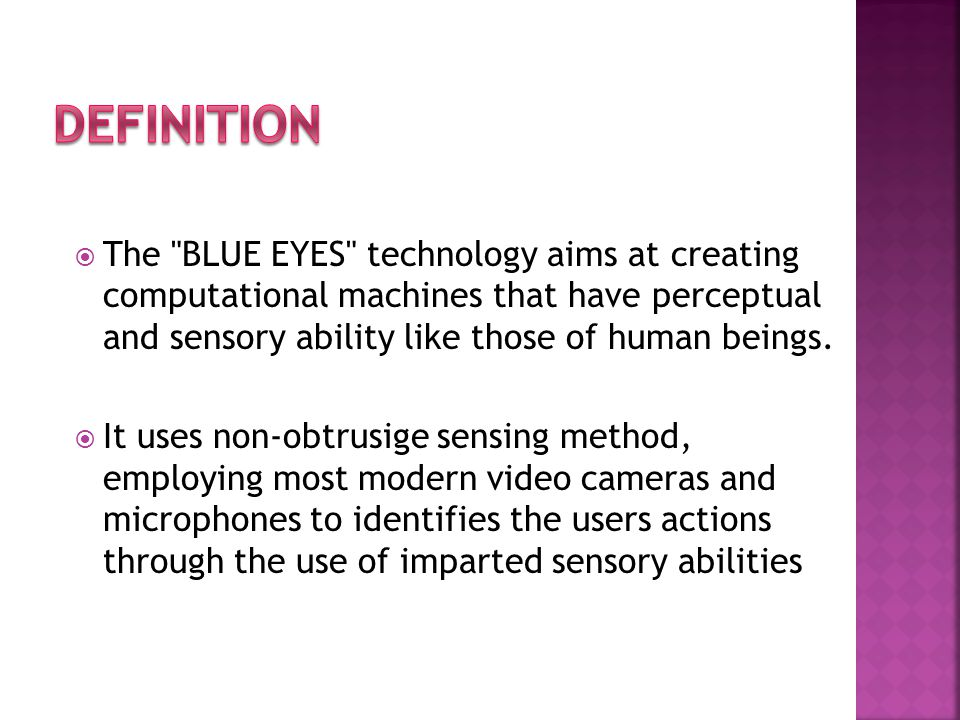  This technology works with a software called EyePoint that works with standard eye- tracking hardware EyePointhardware  The software uses an approach that requires that a person look at a Web link, for instance, and hold a hot key on the keyboard as she is looking