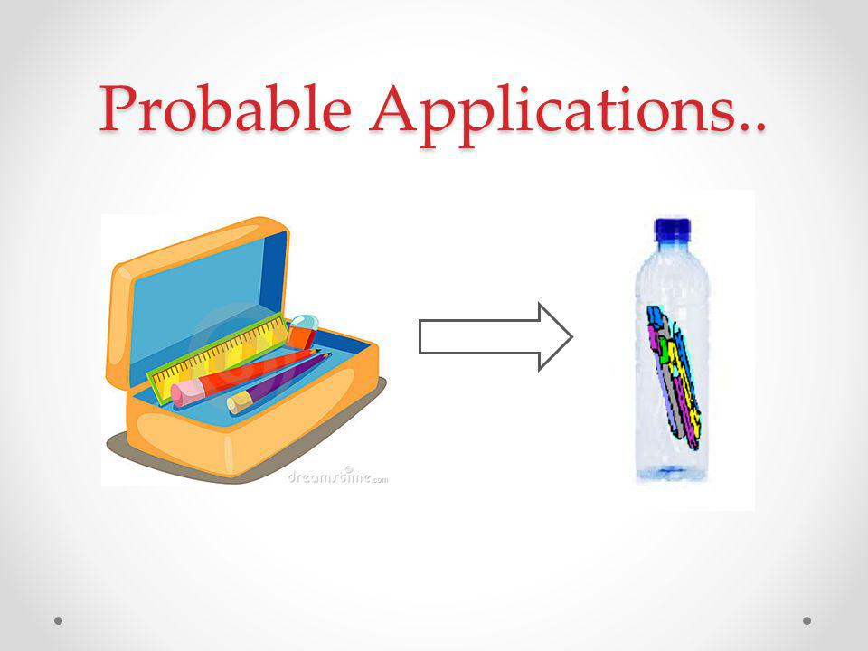 And Many Others.. Like waterproof product packaging. Attractive transparent gift packing, etc.
