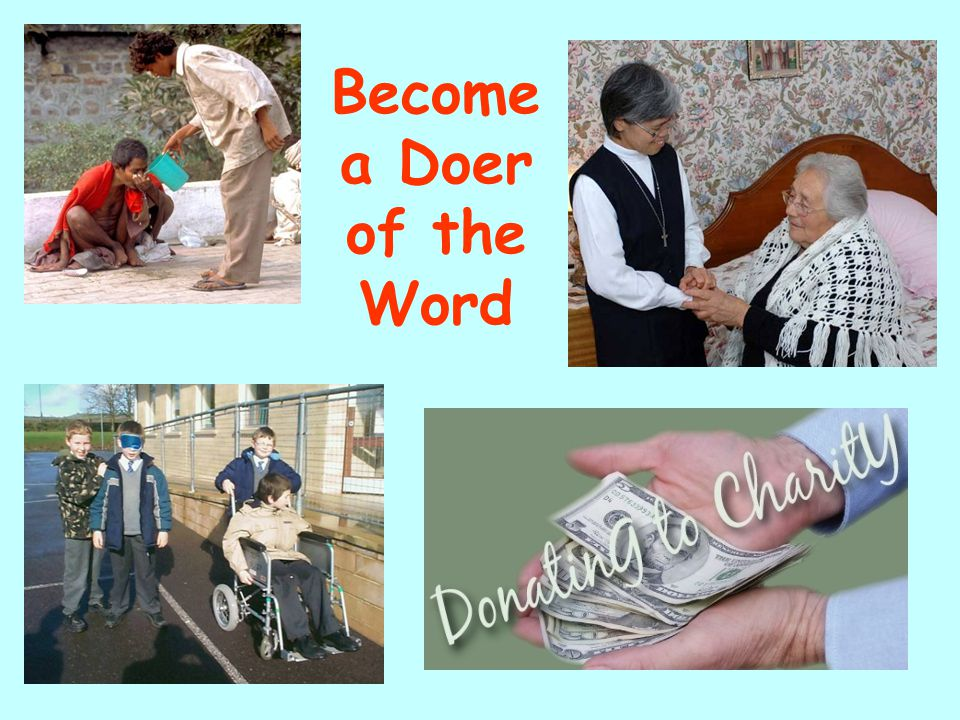 Become a Doer of the Word