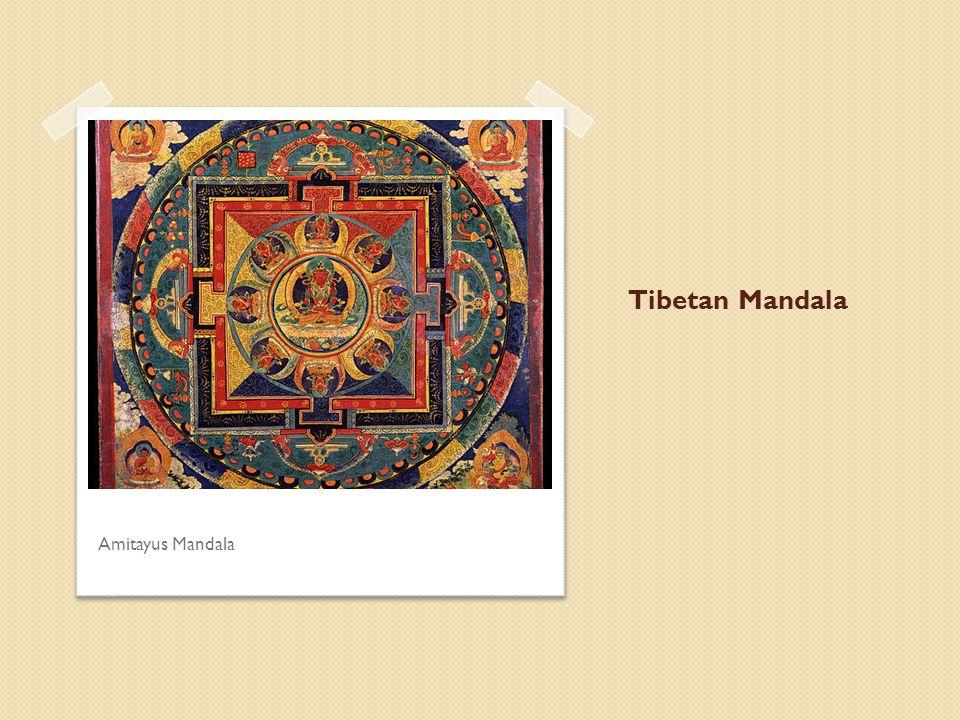 Tibetan Mandala Amitayus Mandala