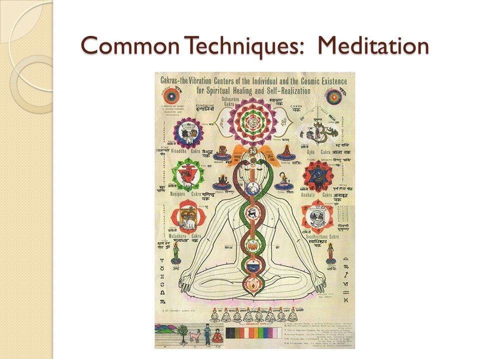 Common Techniques: Meditation