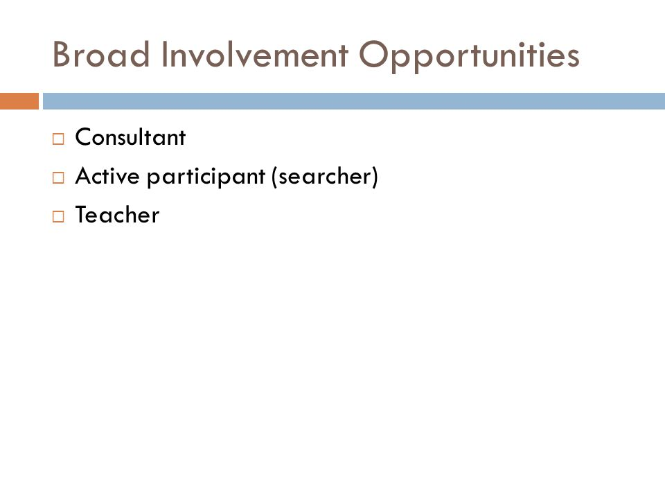 Overview  Communicating with researchers  Teaching concepts  Searching Considerations  Reporting  Writing Methods