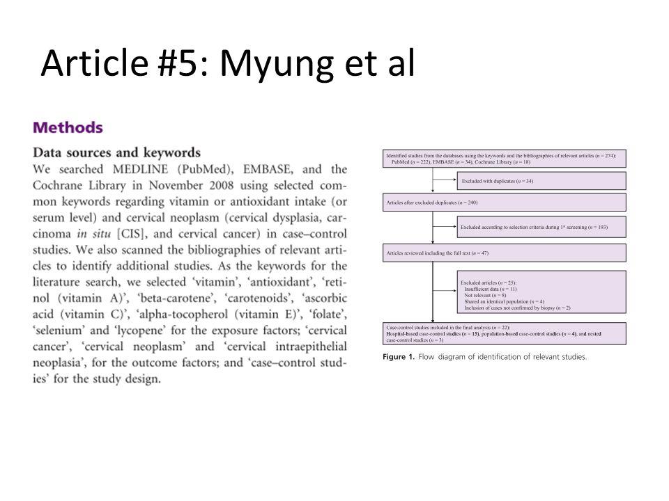 Article #5: Myung et al
