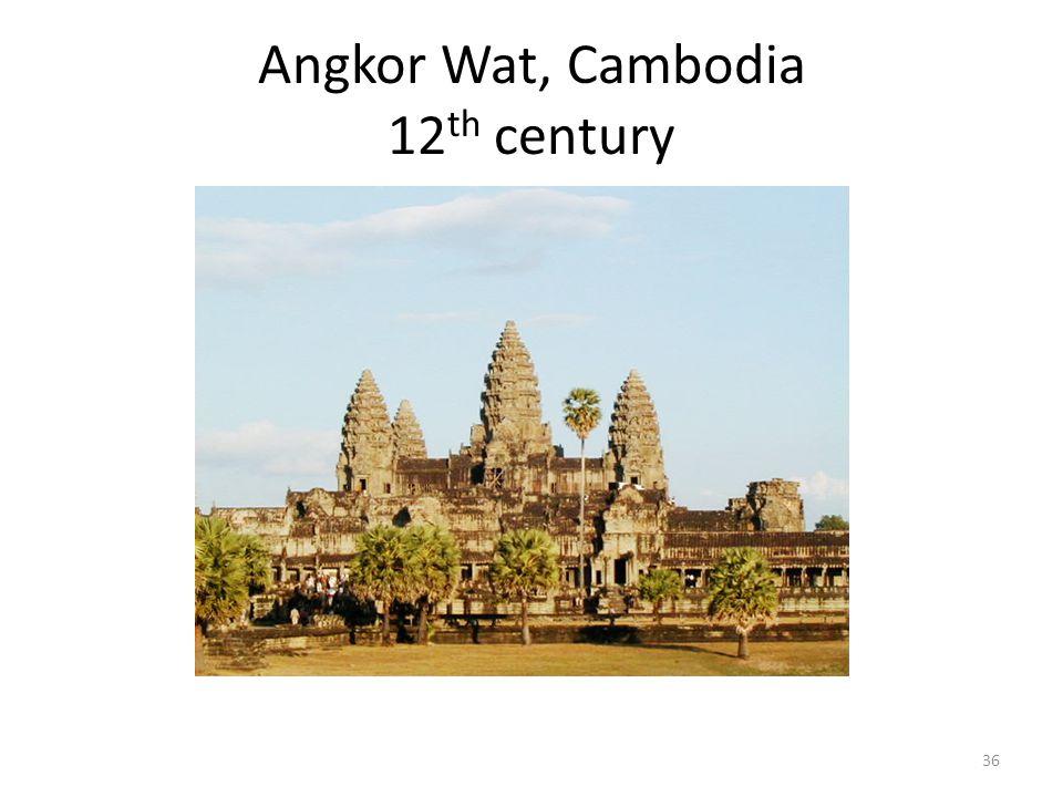 Angkor Wat, Cambodia 12 th century 36