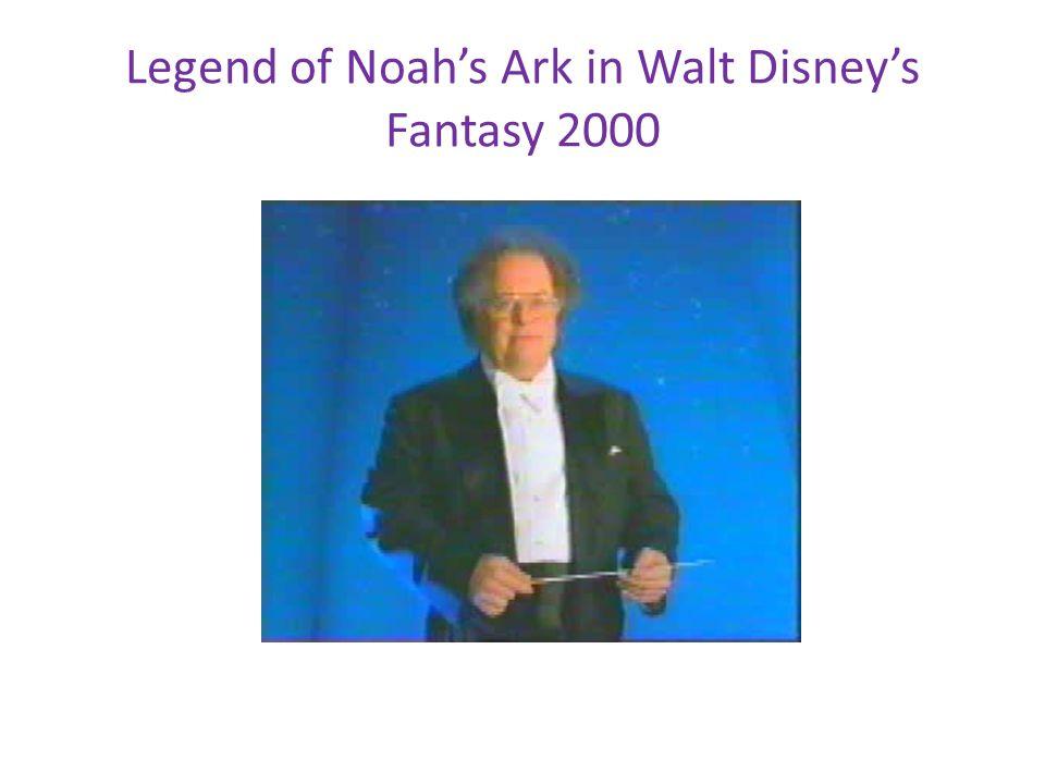 Legend of Noah's Ark in Walt Disney's Fantasy 2000