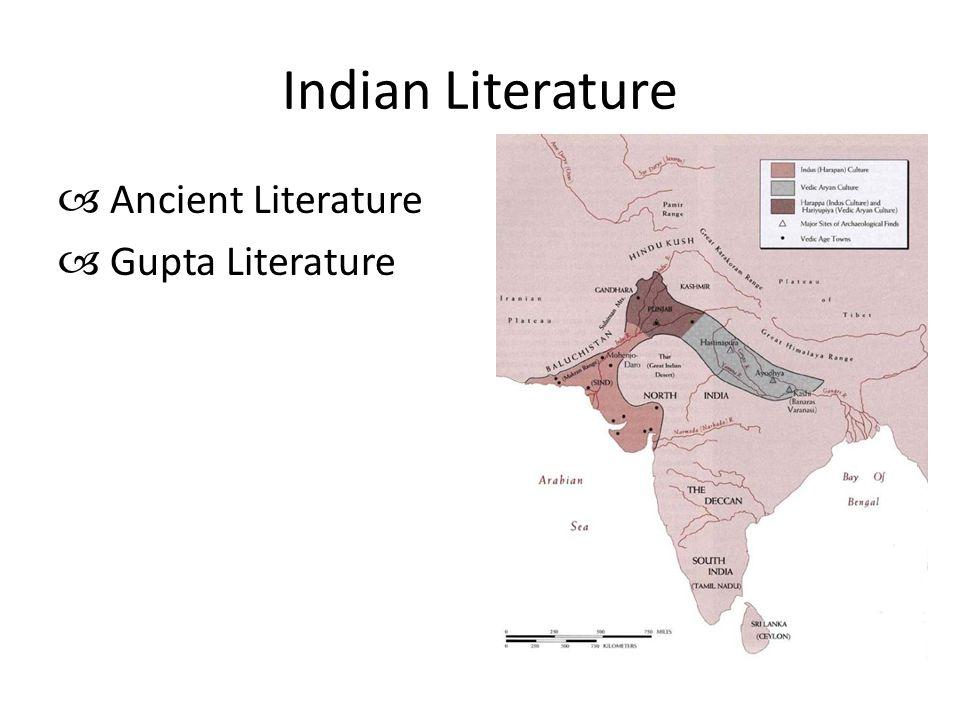 Indian Literature  Ancient Literature  Gupta Literature