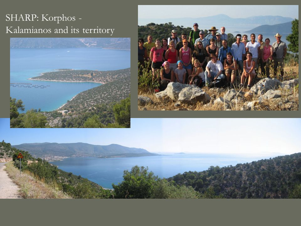 SHARP: Korphos - Kalamianos and its territory