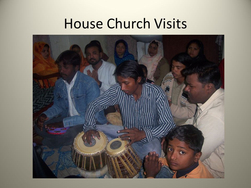 House Church Visits