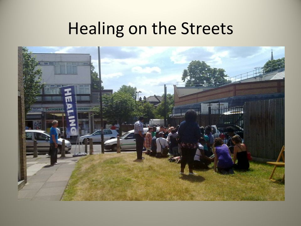 Healing on the Streets