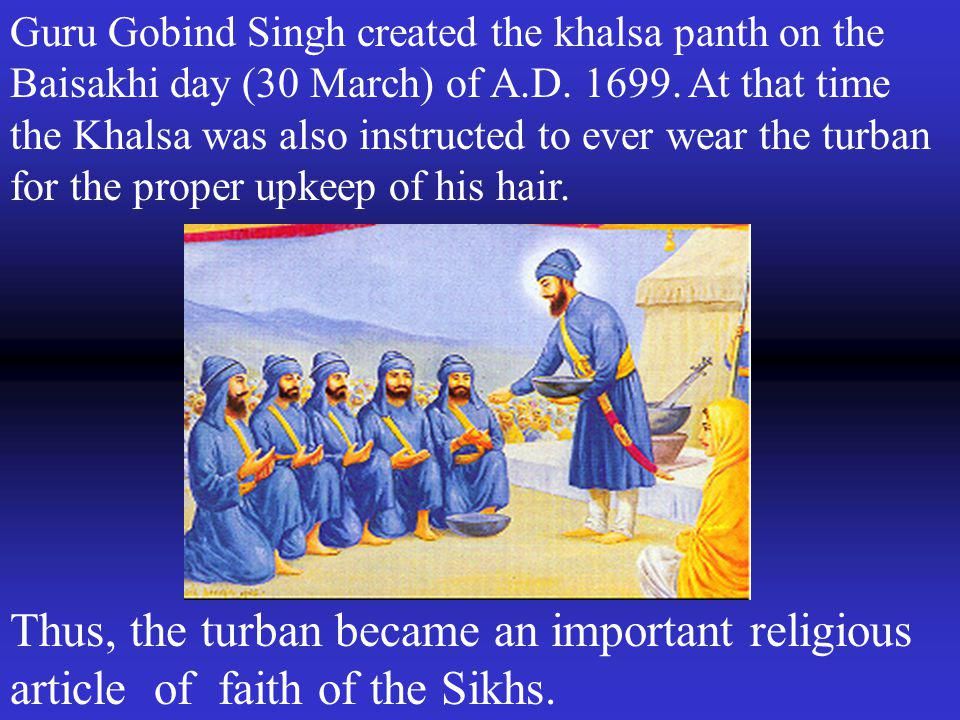 Sikhs saved France in the first and second world wars sacrificing their lives for them with turbans on their heads.