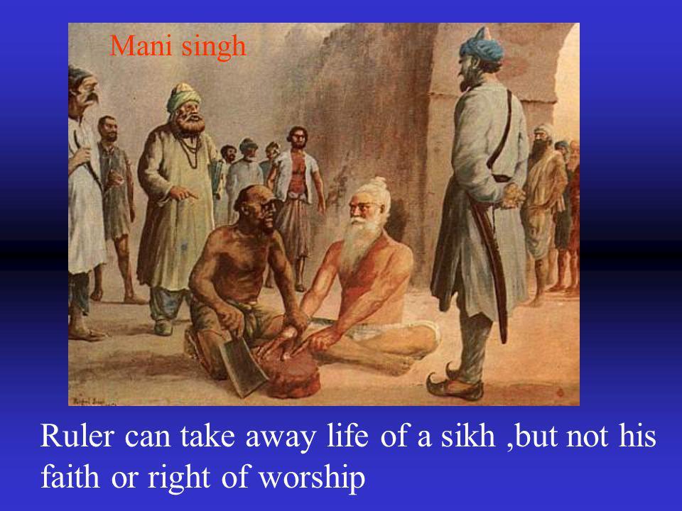 Shabeg singh shahbaj singh Father and son duo sacrificed their lives but not their faith