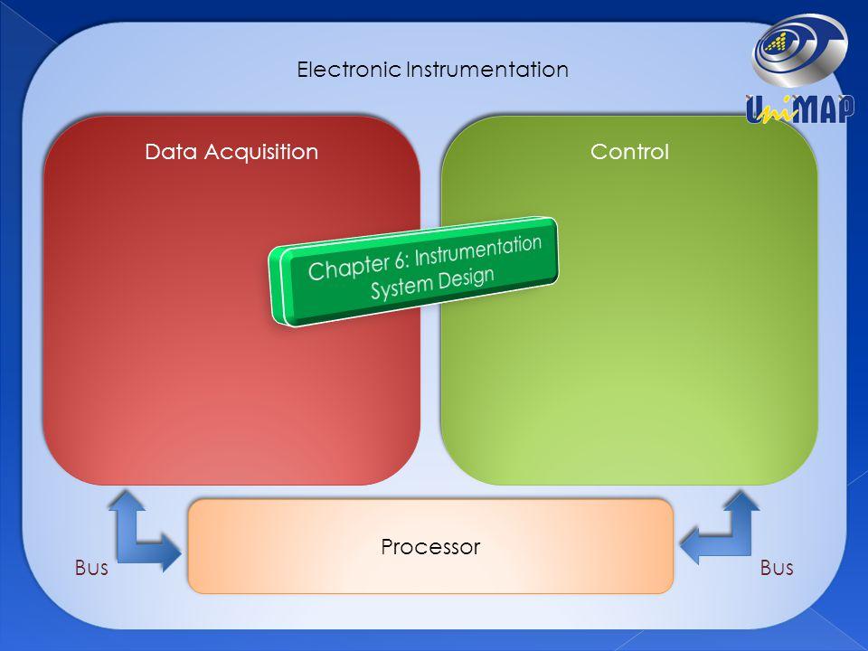 Electronic Instrumentation Data Acquisition Control Processor Bus